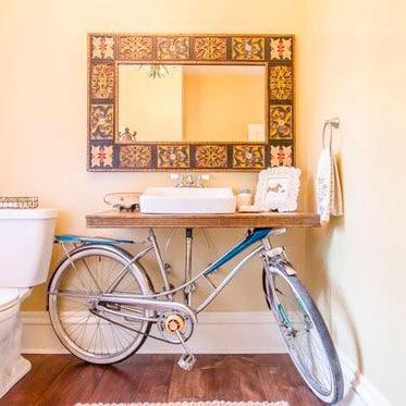 Recycler son vieux vélo