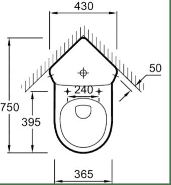 WC angle
