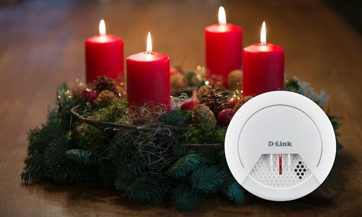 Smarter Schutzengel für die Adventszeit: Neuer Rauchmelder von D-Link ist ab sofort verfügbar