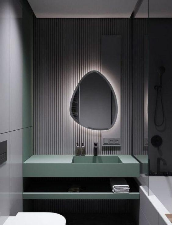 kamar mandi rumah minimalis bintang 5