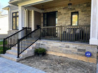 Aluminum with Spindles - Exterior