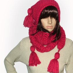 Beanie scarf sets