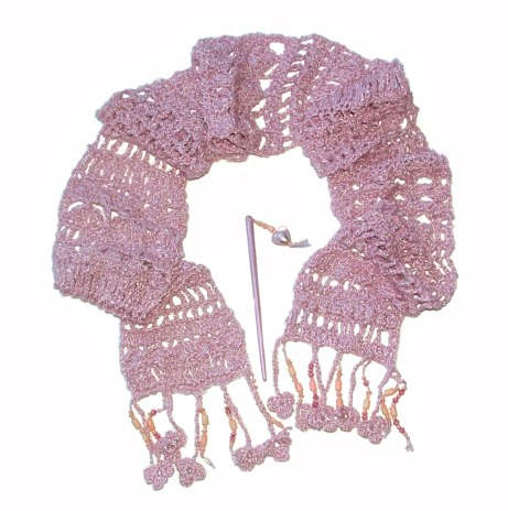 pink cotton silk blend