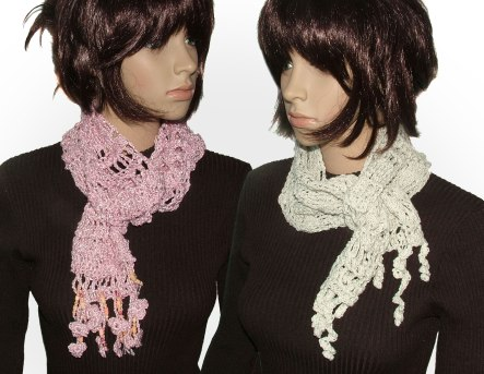 no pattern scarves