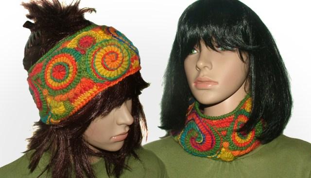 rainbow 2 headband/cowl