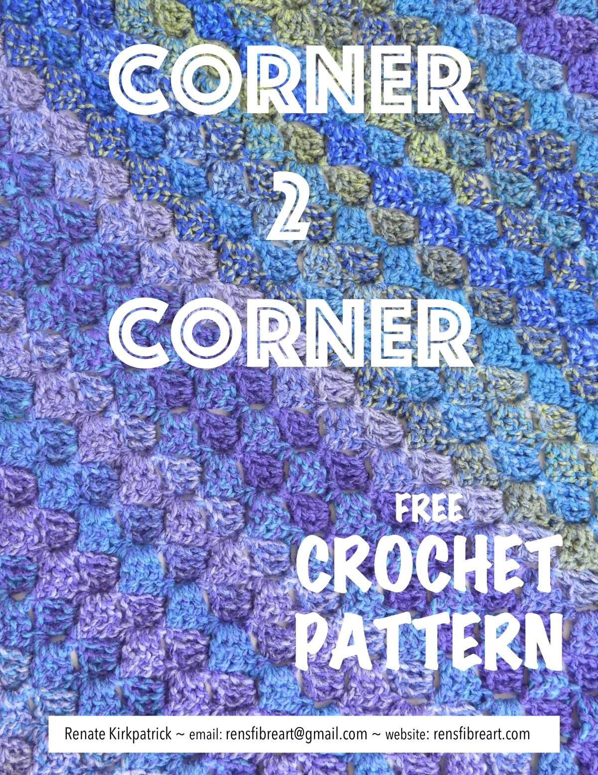 Corner to Corner Free crochet Pattern