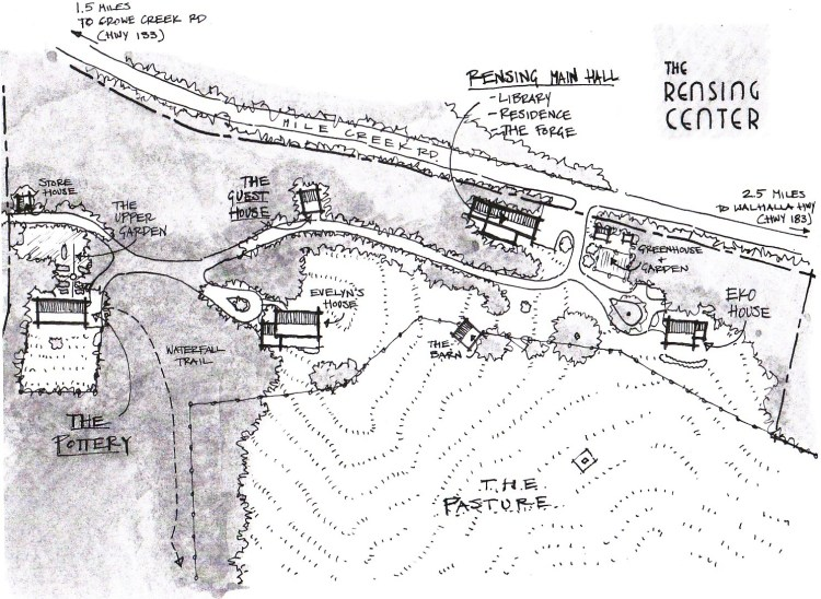 Rensing Center map of property