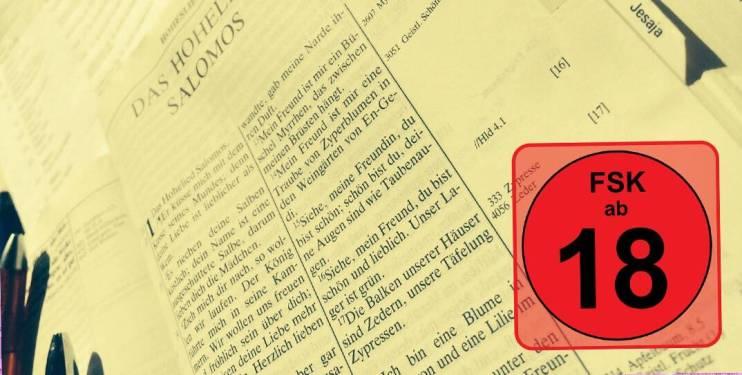 Wusstest Du, dass das Hohelied im Judentum nur von Erwachsenen gelesen werden durfte? Zu 'eindeutig' war die Sprache - nix für Kinderohren...