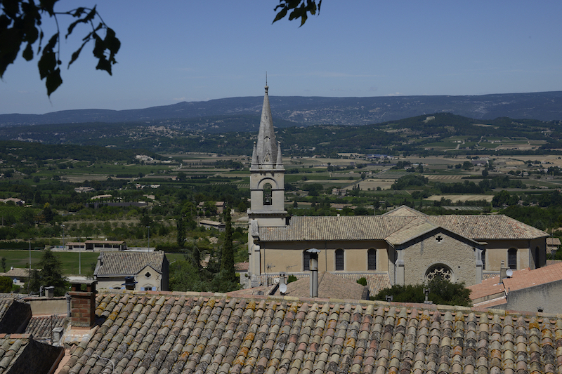 Luberon villages Provence France Rent-Our-Home rentourhomeinprovence Bonnieux rooftops