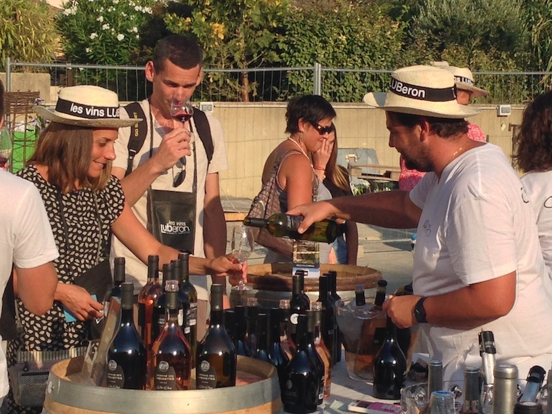 Provence Lourmarin Rent-Our-Home markets wine