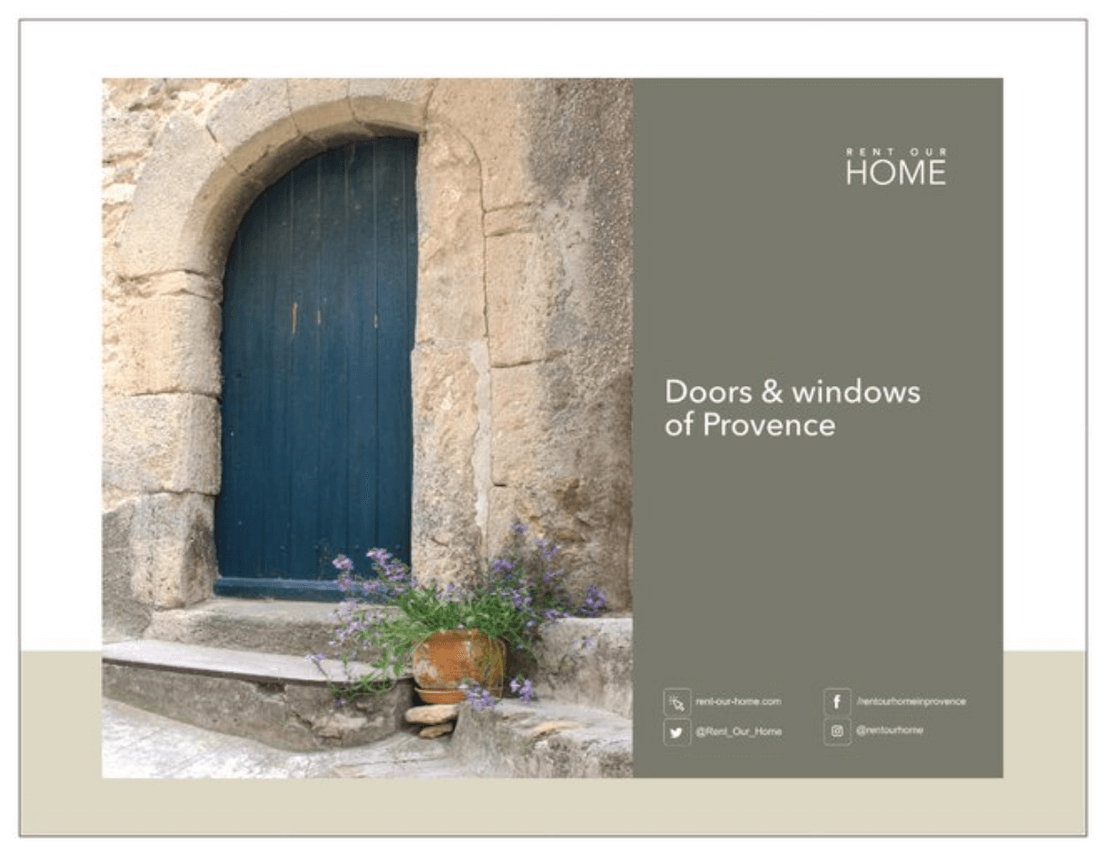 Windows Calendar 2021 Doors & Windows of Provence   mini wall calendar   Rent Our Home