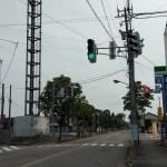 富山駅北方面からの下新北町交差点