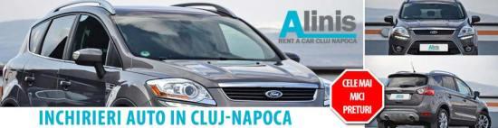 Inchirieri auto in Cluj Napoca ieftin preturi mici