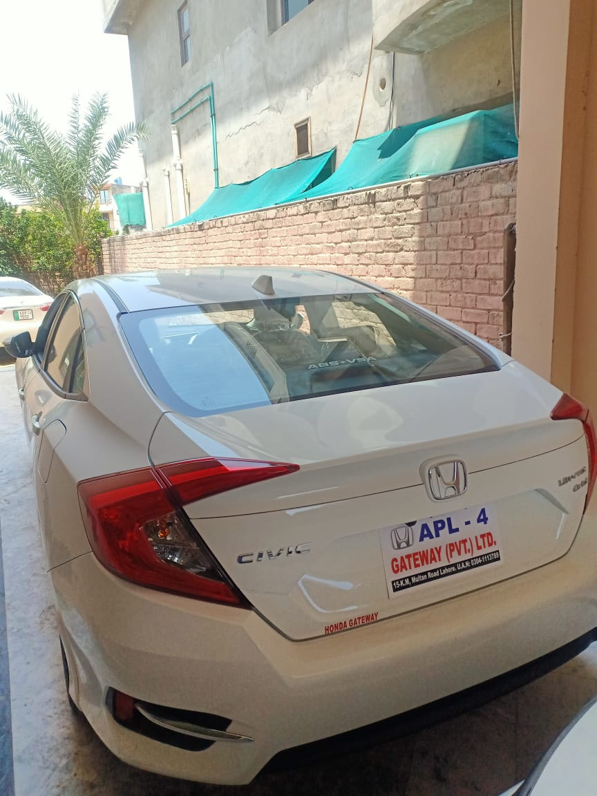 Rent a Honda Civic 2020 Lahore