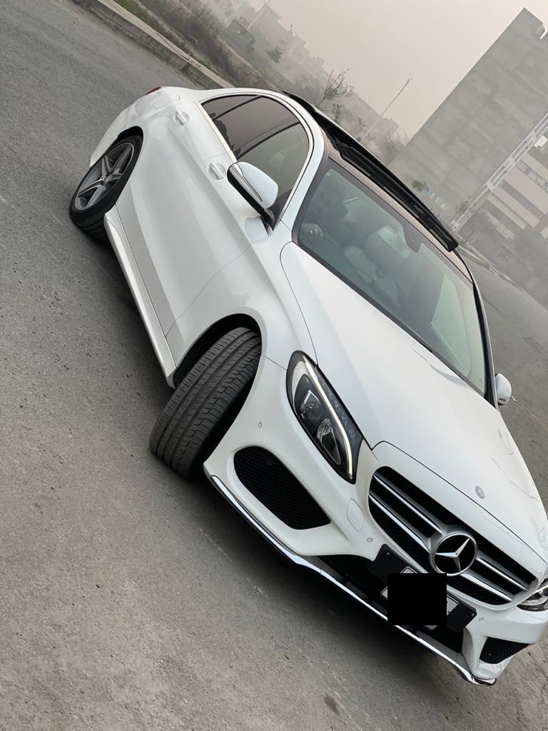 Rent Mercedes c180 in Lahore