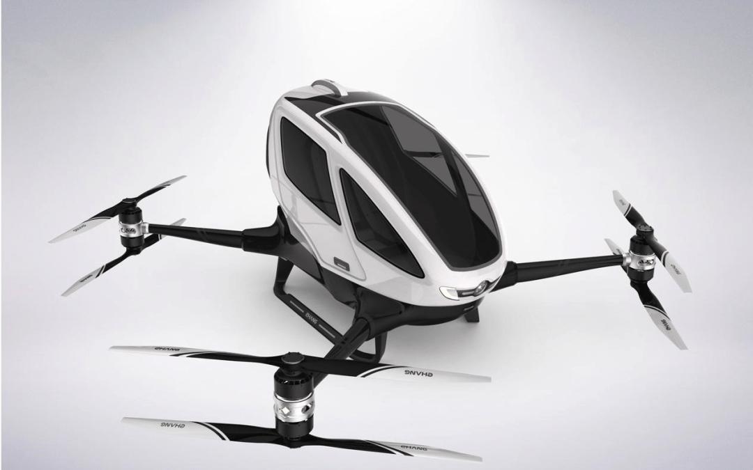 EHANG 184: El Drone que cambiará nuestras vidas