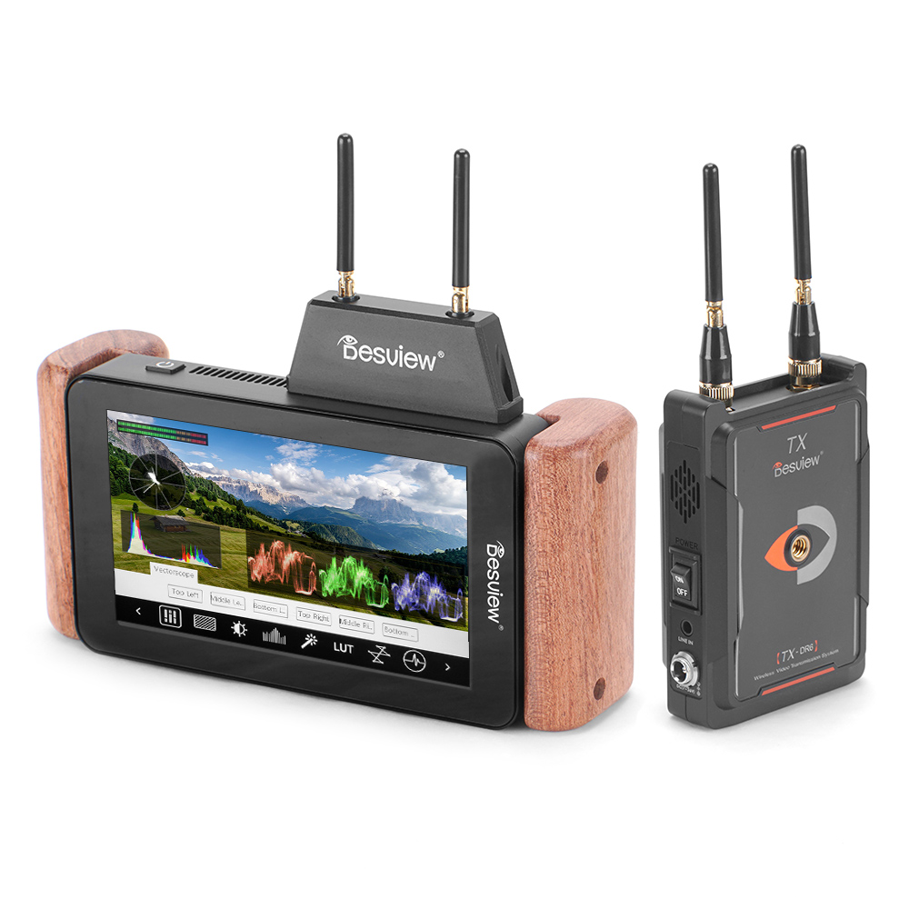 Desview DR6 5.5 Wireless Monitor With Transmitter