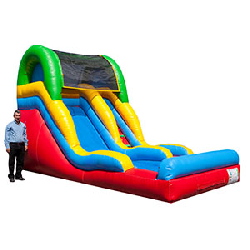 14 Foot Wet Slide