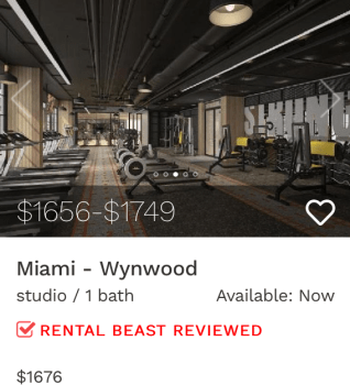 rent in Miami