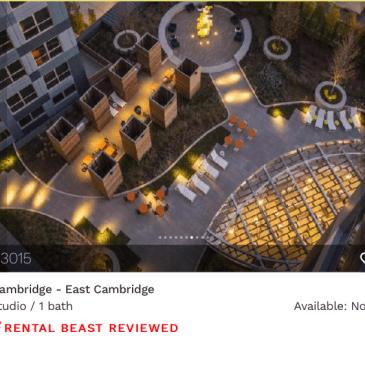 rent in Cambridge