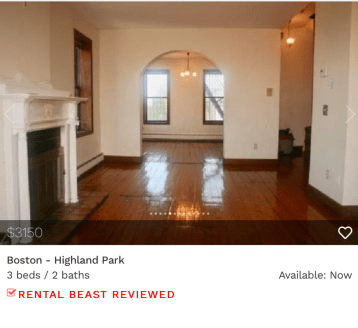 rent in Boston