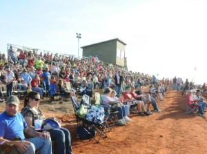 Seating for 500 on hilltop