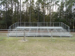 Rodeo Bleachers in Gainesville
