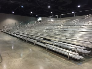 Portable Bleacher Units for Large Event Seating