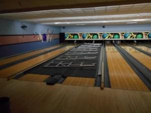 Bowling Alley Bleacher Installation