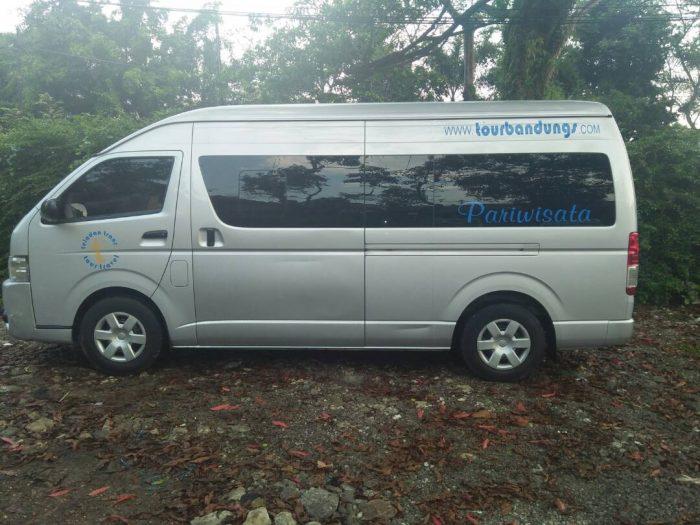 Harga Rental Hiace Wisata untuk ke Bandung