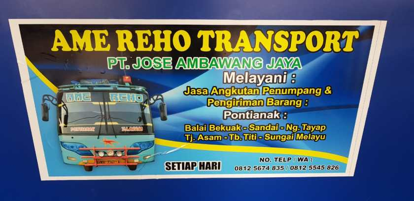 7. Bus Ame Reho Transport