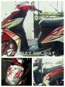 Sunday Holiday Rental Motor Malang - XEON RC Merah