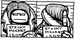 Mug Shot - Sticky Mickey