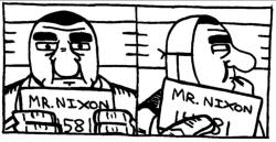 Mug Shot - Mr. Nixon