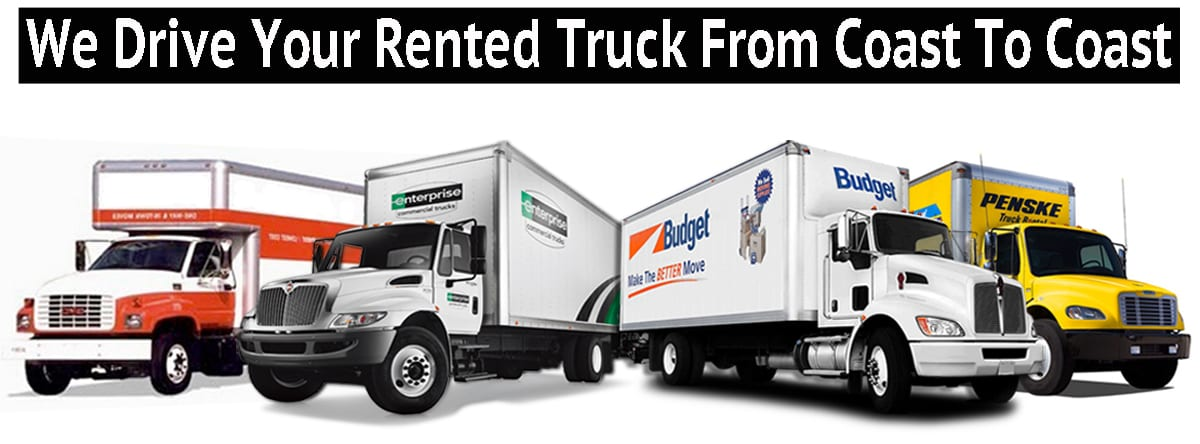 RENTED TRUCK DRIVER | Rent a truck driver for moving |Uhaul |Penske | Budget Logo