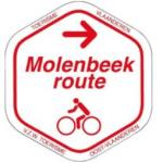 Routebordje molenbeekroute