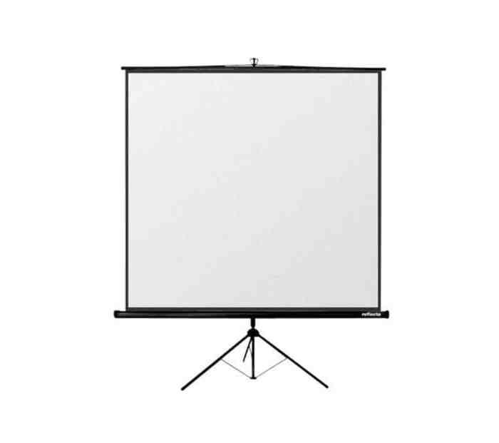 Kokkupandav kolmjalg projektori ekraan