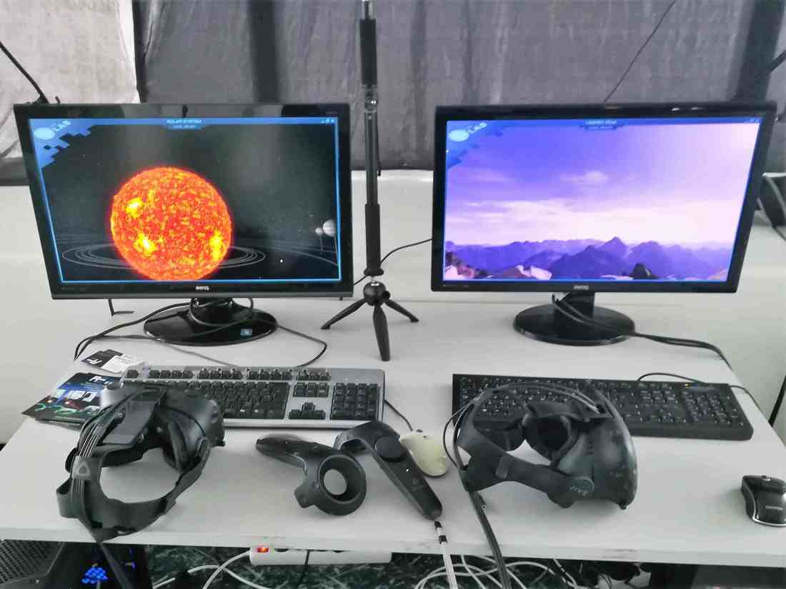 Virtuaalreaalsus lauaarvutis