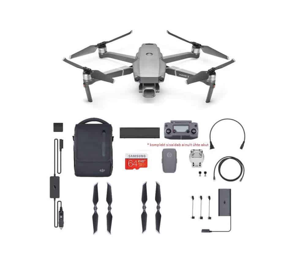 DJI Mavic 2 pro drooni Fly more
