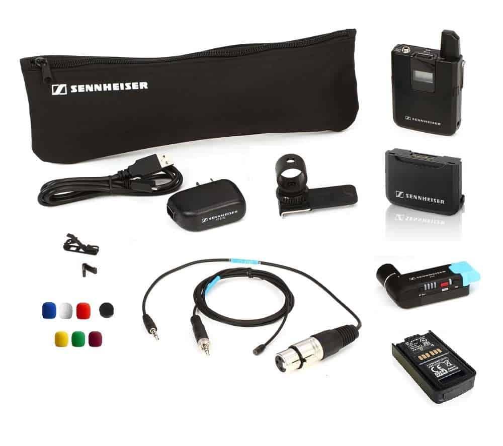 Sennheiser AVX-MKE2 juhtmevaba mikrofoni rent