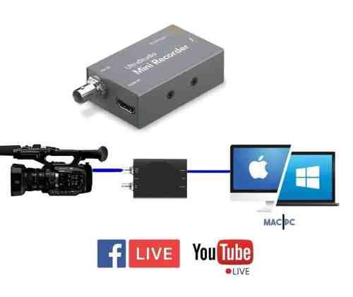 Blackmagic UltraStudio mini recorder rent