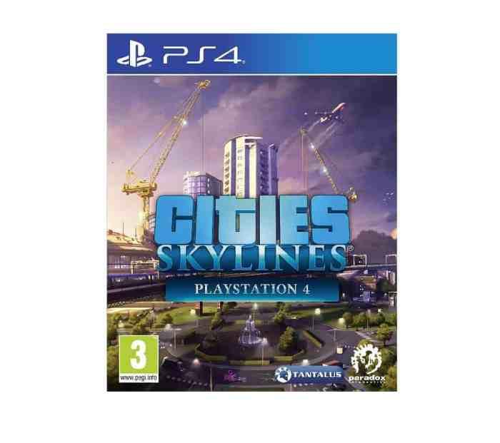 PS4 Cities Skylines rent