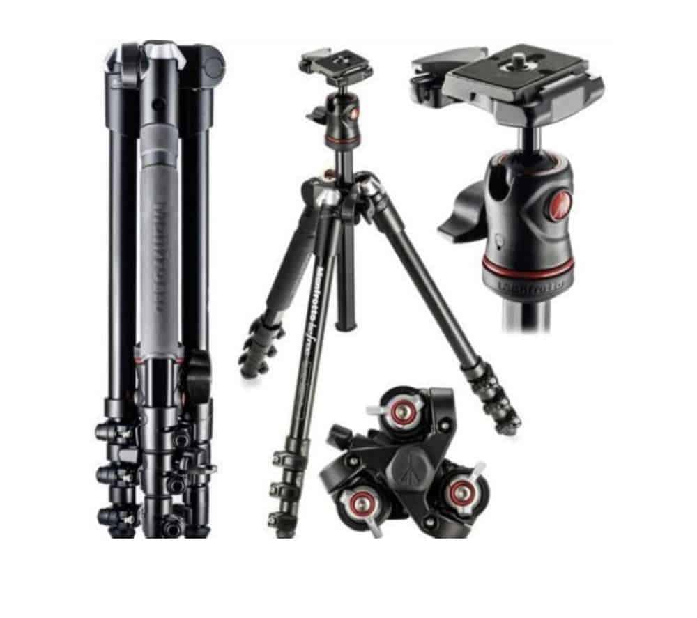 Manfrotto Befree MKBFRA4-BH statiivi rent 1