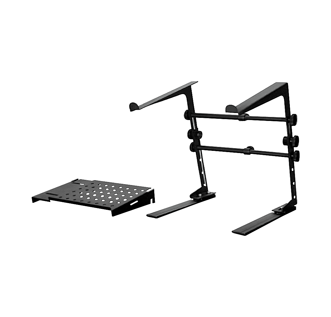 Dr Pro Dj Laptop Stand And Shelf Bundle