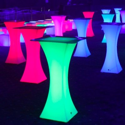 LED Cocktail Tables For Hire| NY, Nj And Long Island| Light Up Cocktails  Tables For Rent   Indoor U0026 Outdoor