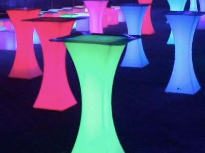 Cocktail Tables Light Up