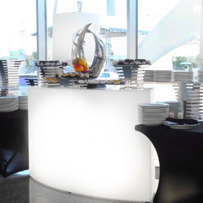 LED Buffet bar for rent