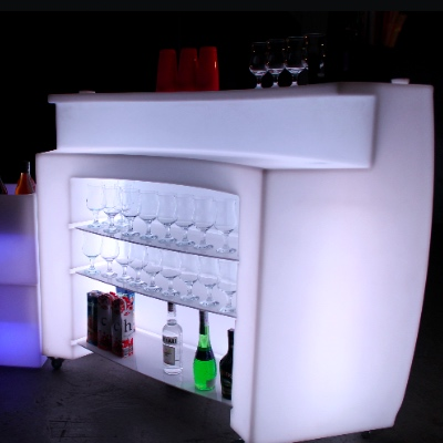 LED Portable bar for rent