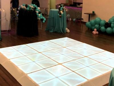 led dance floor rental 10x10