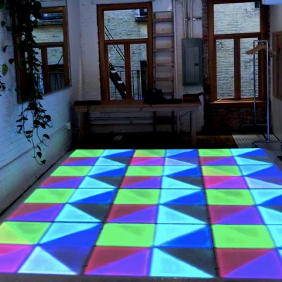 led dance floor 10x13 ft rental